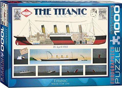 Titanic 1000-Piece 1000-Piece Titanic Puzzle by EuroGraphics 5dd2c9