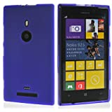 Hyperion Nokia Lumia 925 Matte Flexible TPU Case (Compatible with T-Mobile Nokia Lumia 925 and At&t Nokia Lumia 925 Models) **18 Month Warranty** [Hyperion Retail Packaging] (Purple)