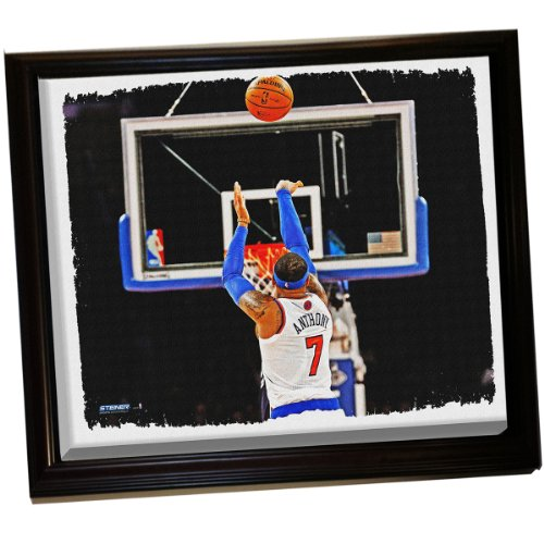 Carmelo Anthony Framed Stretched 32X40 Canvas