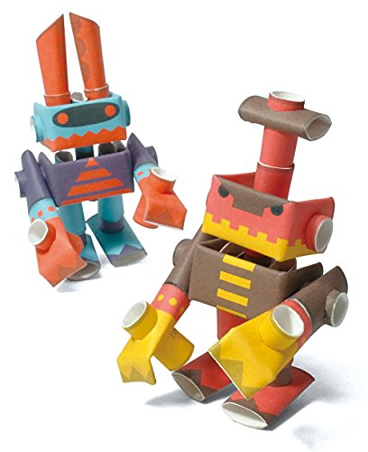 h paper craft robot kit from Japan - Robot Beetles ()