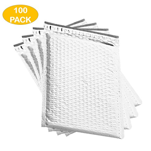 OfficeKit Poly Bubble Mailers #2 8.5X12 Inches Shipping Padded Envelopes Self Seal Packaging Materials Supplies Mailing Envelope Pouches Bags 100 PACK