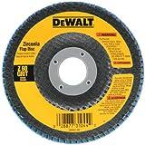 "DEWALT DW8310 4-1/2"" x 7/8"" 120 Grit Zirconia Angle Grinder Flap Disc"