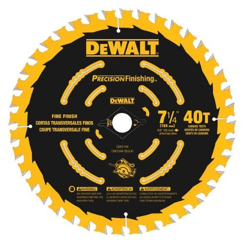 7-1/4 40T Bulk 10-Pack Precision Framing Saw Blade