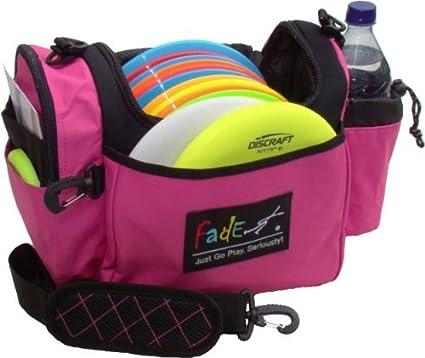 Amazoncom Fade Gear Crunch Box Disc Golf Bag Fuschia By Fade Gear