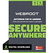 Amazon #DealOfTheDay: Save 35% off Webroot Security for Gamers