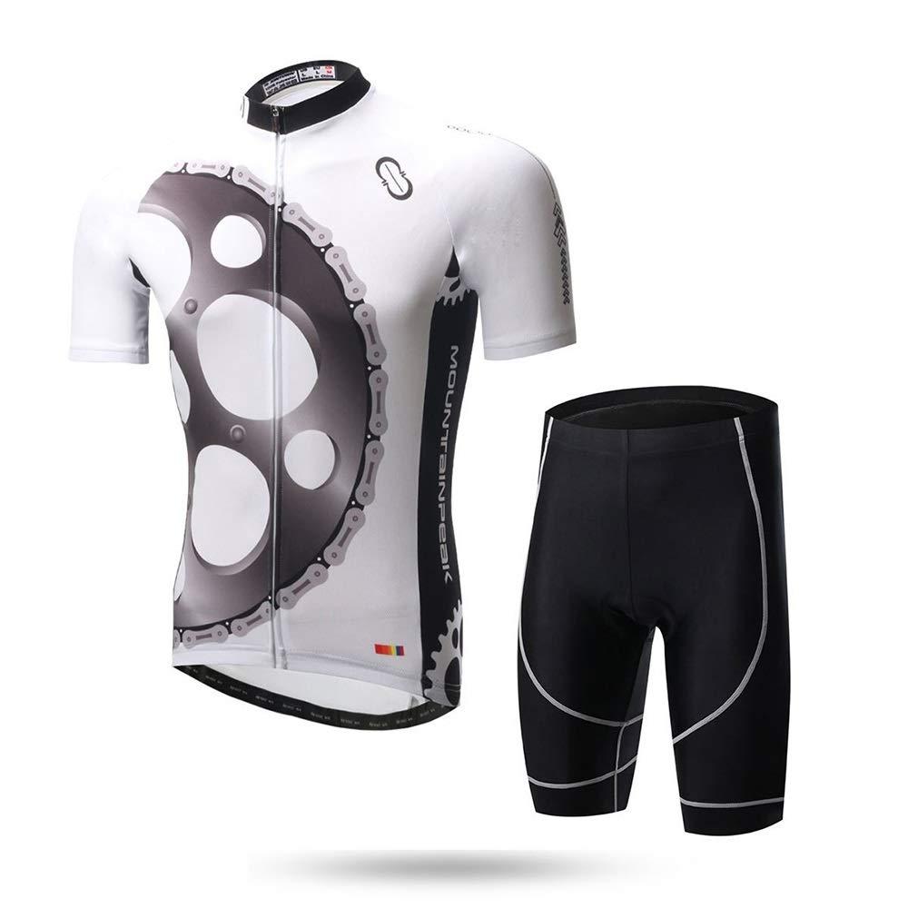Reitanzug Sommer Feuchtigkeitstransport Schnelltrocknende Kleidung Fahrradbekleidung Kurzarmanzug Fahrrad Trikot LPLHJD