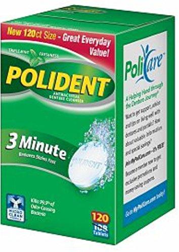 polident-3-minute-antibacterial-denture-cleanser-120-ea-pack-of-2