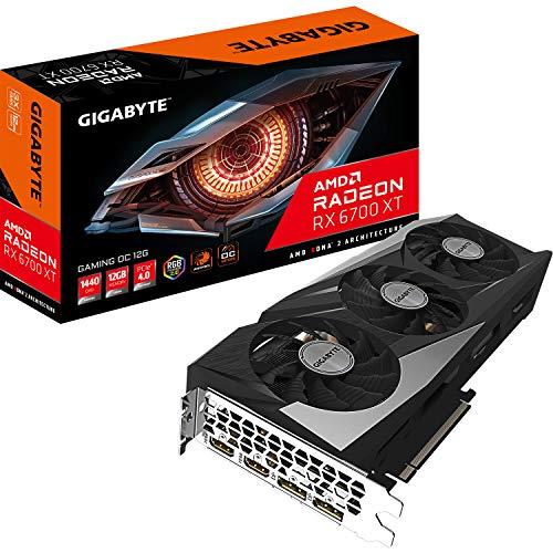 Gigabyte Radeon RX 6700 XT GAMING OC 12 GB grafische kaart