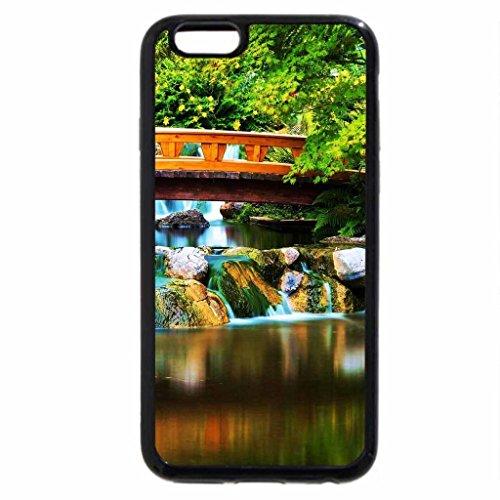 iPhone 6S / iPhone 6 Case (Black) River Bridge