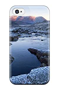 Fashion Protective Stream Earth Nature Stream Case Cover For Iphone 4/4s