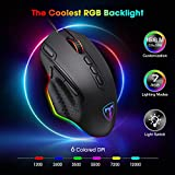 PICTEK RGB Gaming Mouse, Wired Mouse Gaming with
