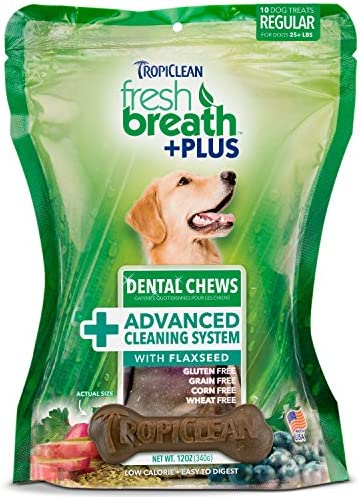 Tropiclean Dental Chews For Dogs