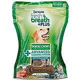 Tropiclean Fresh Breath Plus Regular Dental Treats – Advanced Cleaning System – 12 Oz