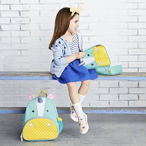 Skip Hop Zoo Toddler Kids Backpack, Unicorn, Girl, Multi, 12-inches