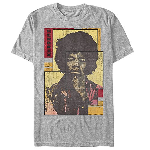 Jimi Hendrix - Collage Frame - Adult T-Shirt - Small