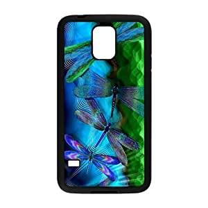 Blue Dragonfly Cell Phone Case for Samsung Galaxy S5