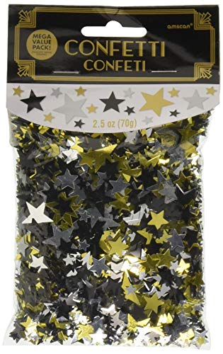 Hollywood Stars Party Confetti, 2.5 oz. -