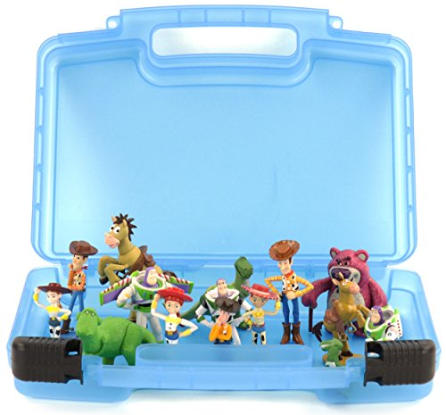 Life Made Better Toy Storage Organizer. Fits Up To 15 Mini Figures. Compatible With Disney Toy Story Mini Figures And (Slinky Dog Toy Story Costume)