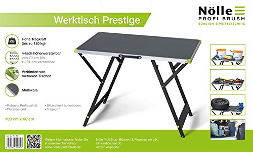 Nölle Werktisch Prestige, 4fach höhenverstellbar 70170