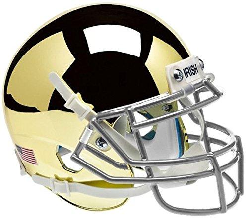NCAA Notre Dame Fighting Irish Collectible Alt 2 Mini Helmet, Chrome (Mini Fighting Sports)