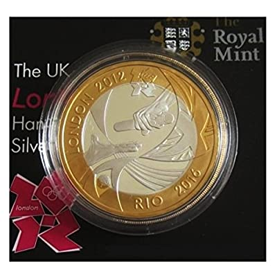Royaume-Uni 2012officielle London au Rio Handover £ 0,9kilogram Proof Argent pièce de monnaie–limitée Mintage: 12000pièces de monnaie