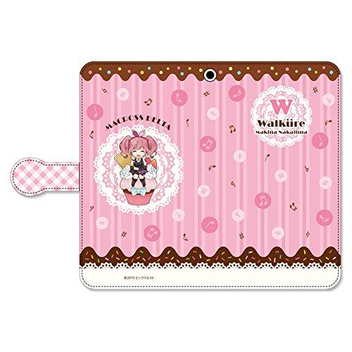 ぴくりる!  マクロスΔ 手帳型スマートフォンケース スイートポップ ワルキューレ マキナ・中島の商品画像