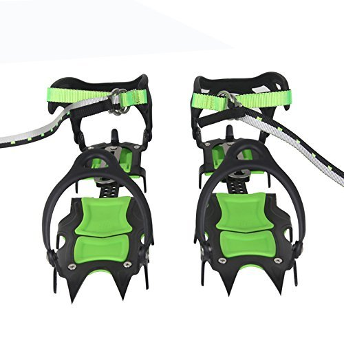 BRS Professional Edition Fourteen Teeth Ice Crampons Winter Snow Boot Shoe Covers Gripper BRS-S1A by BRS