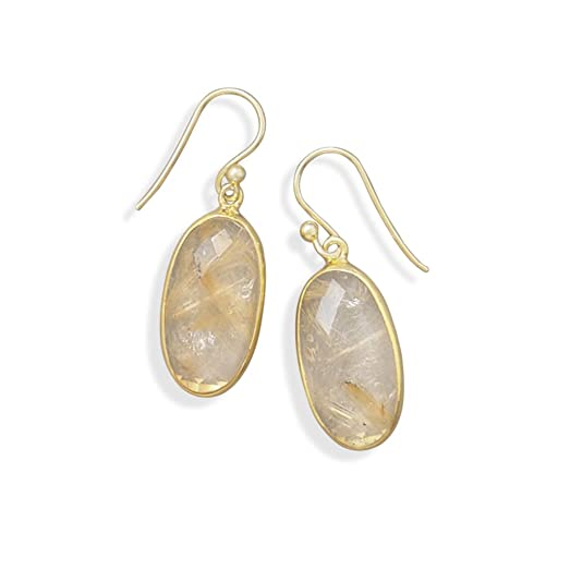 smoky samouce quartz seacoast adorn by tone products lis fleur de gold vintage earrings soul