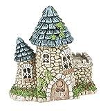 trending patio table decor ideas Ganz 5.75'' Fairy/Miniature Garden Light Up Fairy Tower House