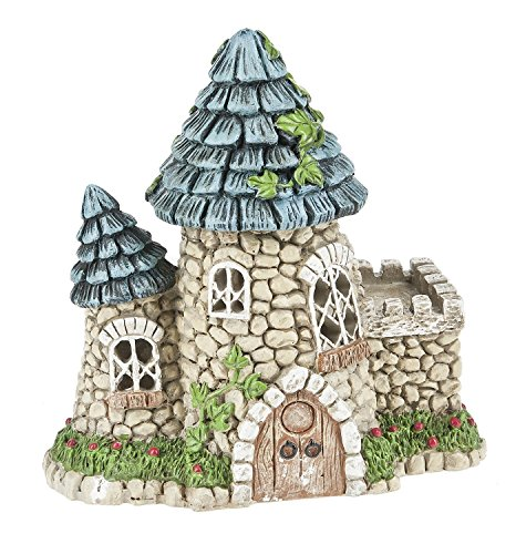 Ganz 5.75'' Fairy/Miniature Garden Light Up Fairy Tower House