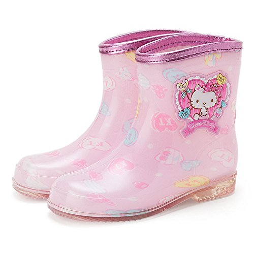 Sanrio Hello Kitty Kids rain boots candy 17cm From Japan (Boots From Dora Costume For Adults)