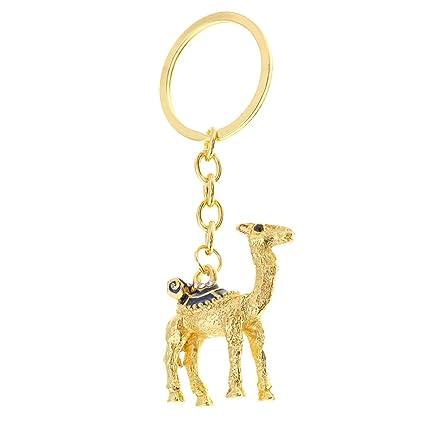 Amazon.com  Baosity 9.5cm Camel Rhinestone Keychain Keyring Charm ... 9883f1514