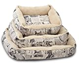 OxGord Slumber Mat Pad Plush Dog Bed, Small