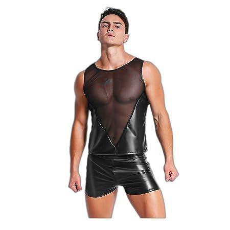 Mbswdd Hombres Ropa erótica Mayordomo Sexy Discoteca Sexy ...
