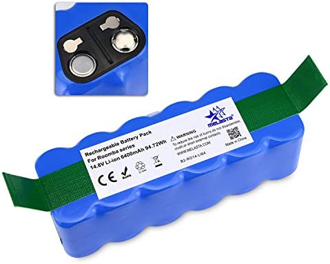 Batería de Repuesto 14,8V 6400mAh Li-ion para iRobot Roomba 500 ...