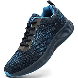DaoLxi Mens Running Tennis Shoes Athletic Outdoor Gym Fitness Sneakers Casual Walking Jogging Hiking Workout Shoes Men's Trail Running Shoes