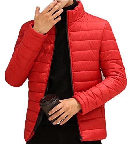 Ultra Down amp;S Winter Packable Men's Light Jackets Red M amp;W Warm Puffer gYxdnnzq