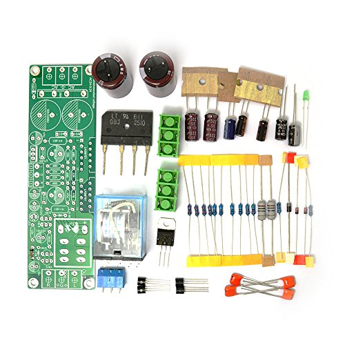 Diy Kit for Gainclone 3875 LM3875 50W+50W 8ohm Amp Board+Speaker Protection SC Electric Amplifier Parts Component Accessory