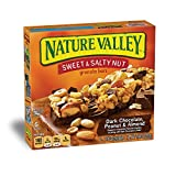 Nature Valley Granola Bars, Sweet and Salty Nut, Dark Chocolate Peanut & Almond, 6 Bars - 1.2 oz
