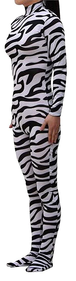 Seeksmile Unisex Lycra Spandex Zentai Dancewear Catsuit without Hood