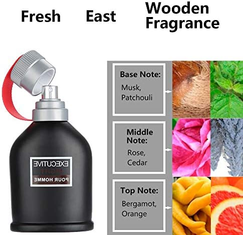 Perfume para hombre Spray de fragancia de madera de 3.4 oz y 100 ...