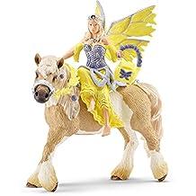 Schleich Sera in Festive Dress on Horseback Toy Figure