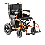 Electric Wheelchair Folding Portable Intelligent Automatic Lightweight Elderly Mobility Scooter with Lithium Battery Wheelchair Accessory
