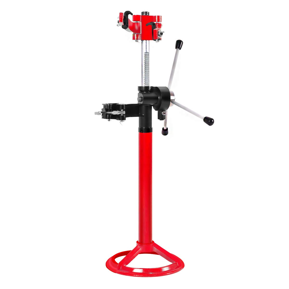 Goplus 20'' Strut Coil Spring Press Compressor Hand Operate Auto Equipment Compress, Red by Goplus (Image #1)