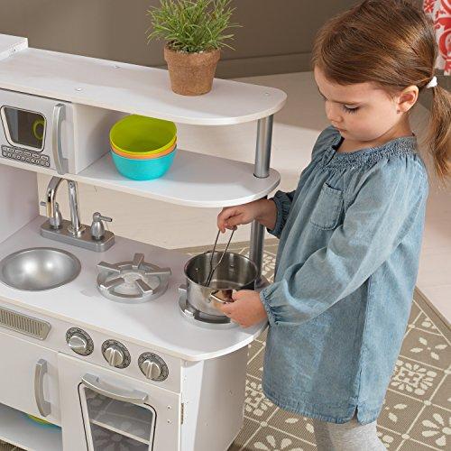 51kP1JDfenL - KidKraft Vintage Kitchen - White