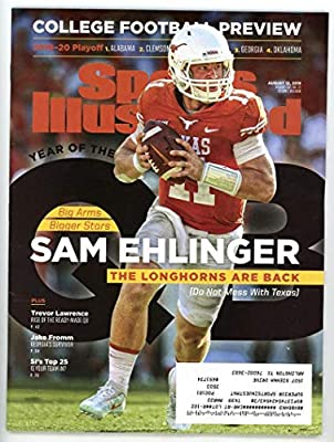 f0ddebd84c249 Amazon.com: SI: Sports Illustrated Magazine August 12, 2019 College ...