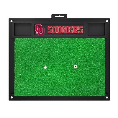 FANMATS 15512 University of Oklahoma Golf Hitting Mat