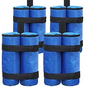 ABCCANOPY - Pesi per gambe per gazebo pop-up, ombrellone, mobili da esterno, confezione da 4 pezzi 51kP2Y2EEXL. SS300