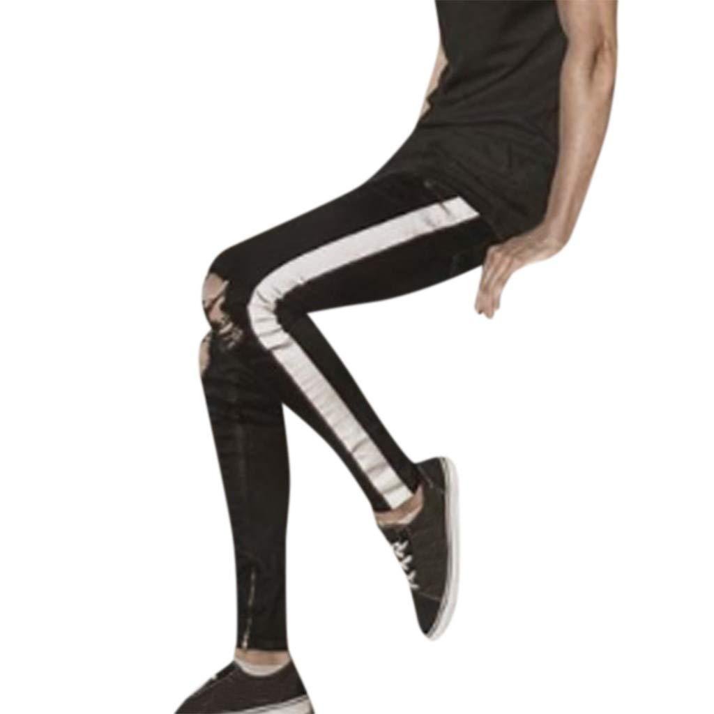 Pantalones Vaqueros para Hombre, Casuales Moda Pantalones ...