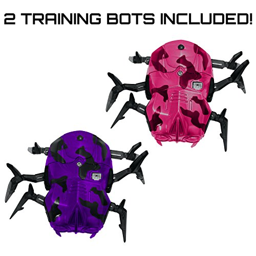 """Laser Tag Spider Moving Robot - """"Space Blaster Training Bot"""" Robot Bug Blaster Tag Target for Your Laser Tag Gaming Set and Toy Games"""